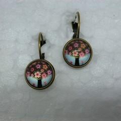 Tree of Flowers Earrings