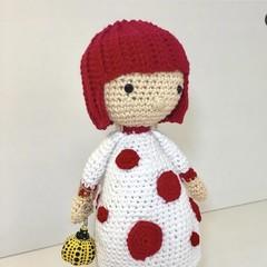 Yayoi Kusama doll