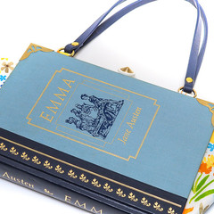 Emma Novel Bag - Jane Austen - Bag made from a book