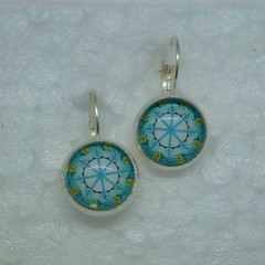 Light Blue Earrings