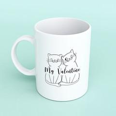 Valentines mug, valentines gift, personalised mug, personalised valentines mug