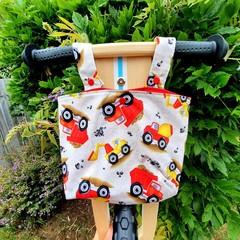 Handlebar Bag | Scooter Bag | Bike Bag | Diggers