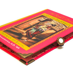 The Royal Diaries - Lady of Palenque notebook - Notebook made from a pre-loved b