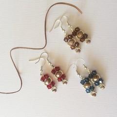 Swarovski Crystal Earrings: Lyrica