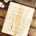 Housewarming gift, personalised house board, personalised kitchen board
