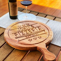 Housewarming Gift, Personalised pizza board, pizza board, wooden pizza board