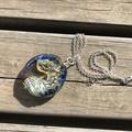Dragon Lampwork Glass Bead Pendant