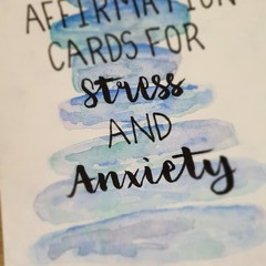 Affirmation Cards for Stress and Anxiety