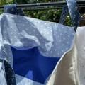 Handmade cotton tote