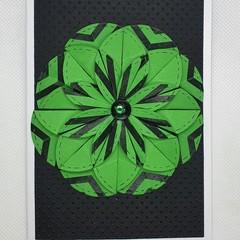 Greeting Card - Dahlia Flower