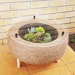 Recycled Tyre Coffee Table