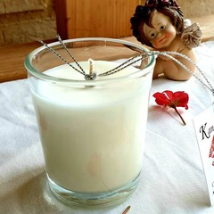 "70g Votive Scented ""Soy candle ""Coconut and lime"""