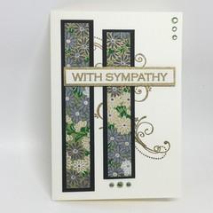 Sympathy Card - Japanese Paper