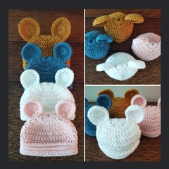 0 to 2 month Bear Beanies 🐻