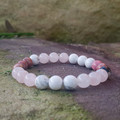 B Beautiful ~ B You ~ Gemstone Beaded Bracelet