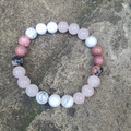 B Beautiful ~ B You ~ Gemstone Beaded Bracelet
