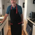 Men's apron - Midnight Gourmet