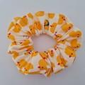 Duck print scrunchie / hair accessory