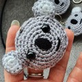 Handmade Crochet Animal Keychains