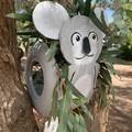 Kitty the Kola Go Cart Tyre Pot Plant Retro Revival Recycle