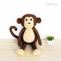 Mack the Monkey Softie PDF Sewing Pattern. Stuffed Animal Pattern