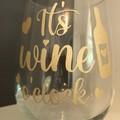 Wine tumbler - It's wine o'clock!