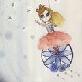 Dream Catcher Art Print   Hand Illustrated   Nursery Print   Wall Art for Girls