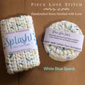 Wash Cloth + 4 Face Scrubbies, handmade, crocheted, 100% cotton, reusable