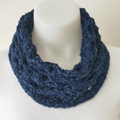 Infinity scarf Navy.