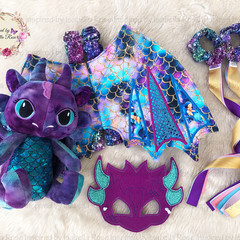 Jointed Dragon Package - Wing Set and Plushie