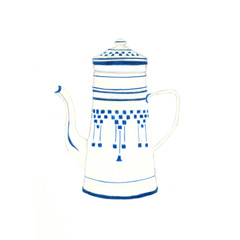 Kitchen Tea/Housewarming: French Coffee Pot