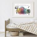 Imagination Destination Art Print | Kids Wall Art | Empowering Print | Classroom
