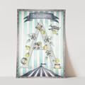 H, I, J, K...ELLAMANO...Trap-P's Art Print | Personalised Art | Giclée | Gift fo