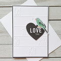 Love You Handmade Card