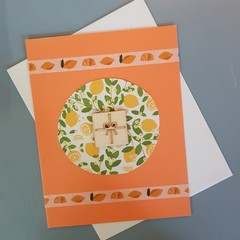 Lemons Birthday Card
