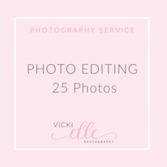 Photo Editing Service - 25 Photos