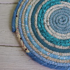 Small Rope Heat pads- New Blue Mix