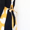 Mustard Leaf Cross Back Apron FREE Tracked Post !
