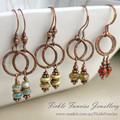 Little Loops Copper Dangles Earrings