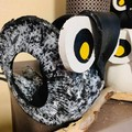 Hoot the Owl Go Cart Tyre Pot Plant Retro Revival Recycle