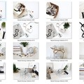 Sewing Stock Photo Bundle - Set of 16 Styled Photos - Neutral Colours