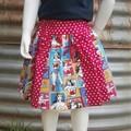 """Little Girls Skirt-""""Wonder Women"""""""