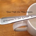 Dessert Spoon,Ice Cream Spoon, Custom, Personalised, Name on spoon