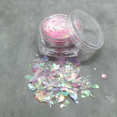 """Candy Princess"" Irridescent Foil Flakes - great for resin"