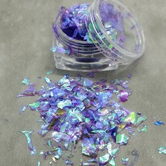 """Pegasus Wings"" Irridescent Foil Flakes - great for resin"
