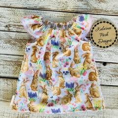 Girls Easter Seaside Dress