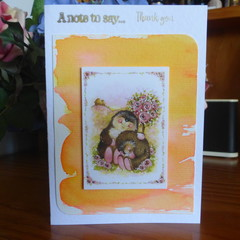 THANK YOU CARD - (FREE POSTAGE)