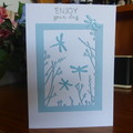 "CARD ""ENJOY YOUR DAY"" - (FREE POSTAGE)"