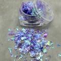 """Pegasus Wings"" Irridescent Foil Flakes - great for resin"