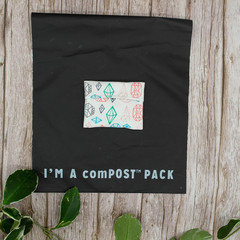 PUL-lined cup wrapper